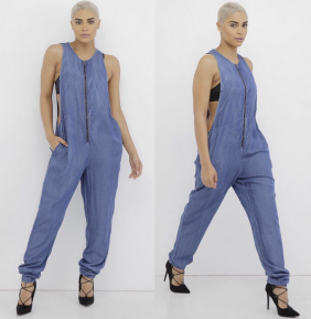 DANITY DENIM JUMPSUIT