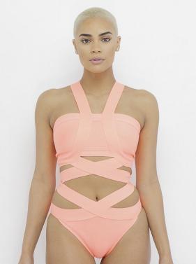 YONCE Bandage Bodysuit